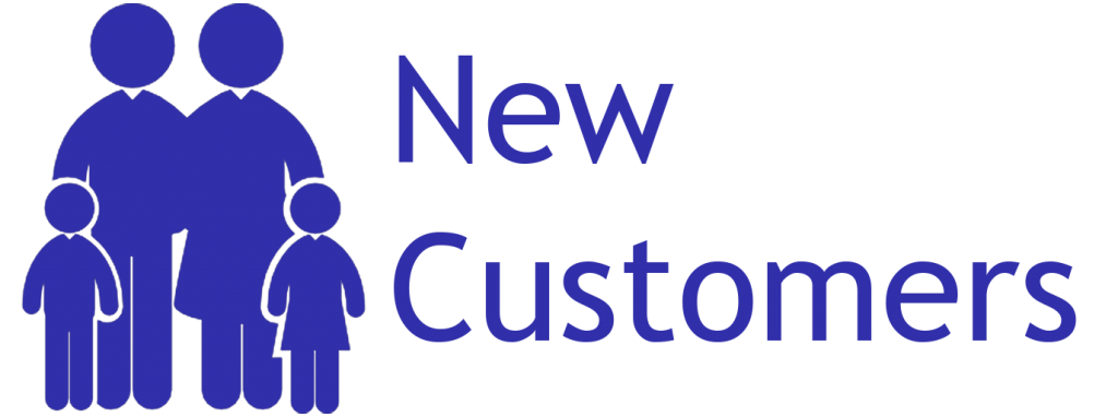 new customers logo