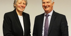 New HHP Chief Exec Dena Macleod & HHP Board Chair Iain Macmillan